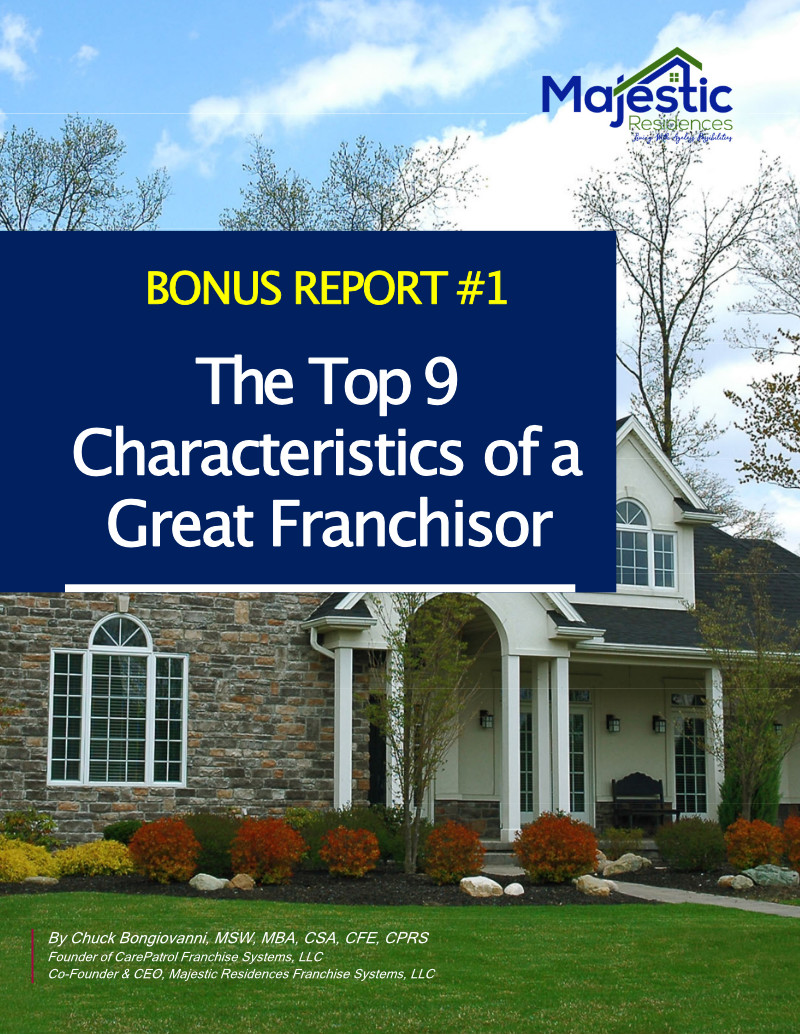 9 Characteristics of a Great Franchisor