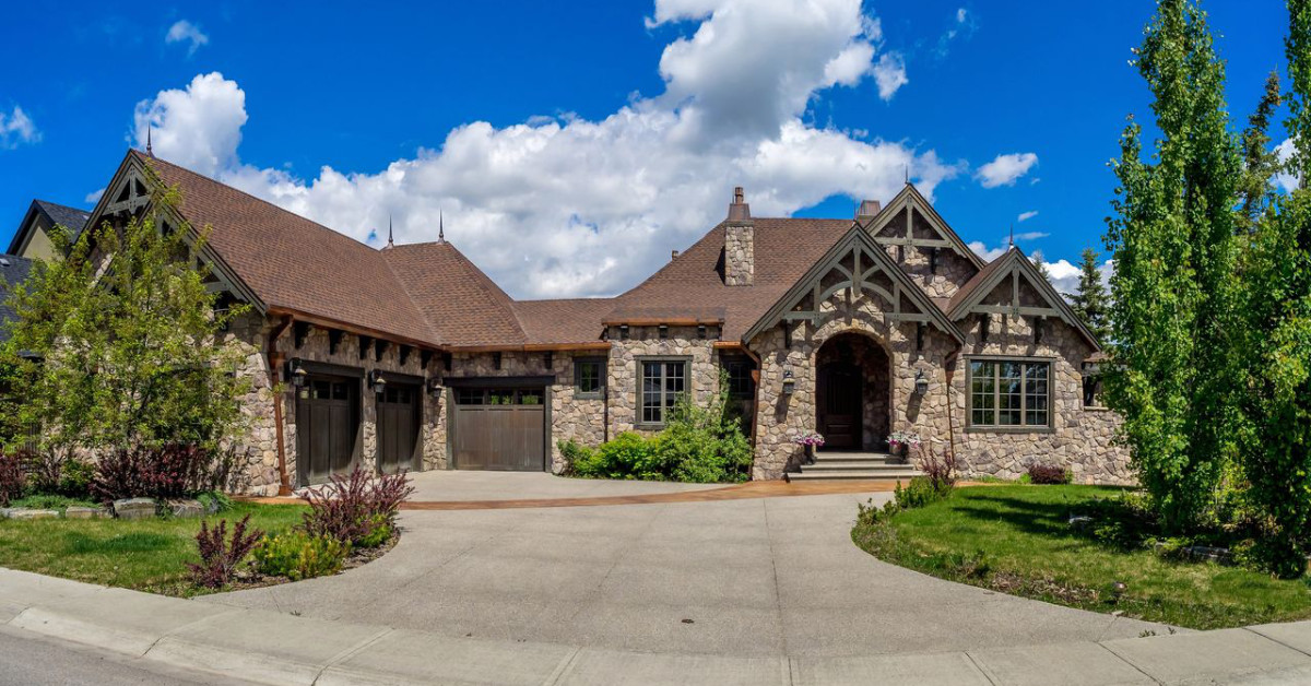 Exterior image of gorgeous home