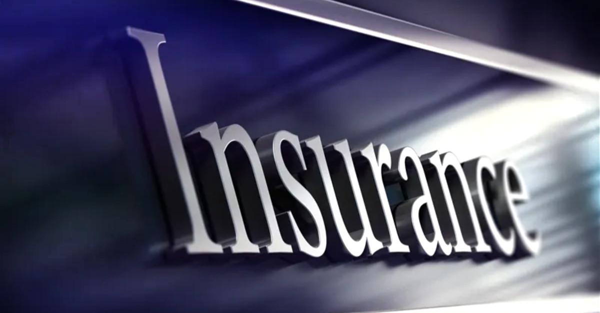Insurance text plaque image